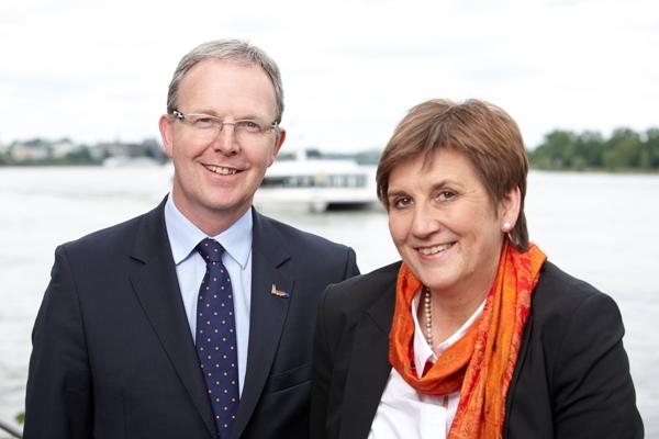 Claudia Lücking-Michel und Axel Voss gemeinsam für Bonn