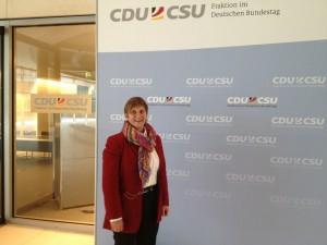 Nun bin ich eine von insgesamt  311 Abgeordneten der CDU/CSU-Fraktion im Deutschen Bundestag